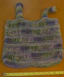 A Simple Market Bag Design