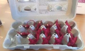 Egg Cartons - aka Bird Organizers