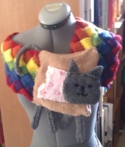 Click here if you are unfamiliar with Nyan Cat or just want to Nyan today.