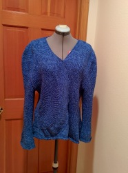 My Spoke Sweater Finished just in time to make the 2013 cut off