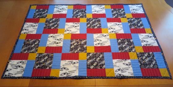 The third Star Trek Quilt!