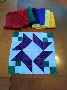 Wedding Quilt Block