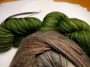 Tosh and Chroma in Double Knit