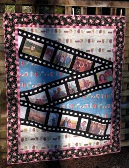 Movie Quilt Front